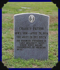 Charlie Pattons Grave