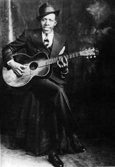Delta blues master Robert Johnson