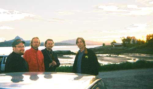 Micke & Leftie, Slim at post-Festival picnic.