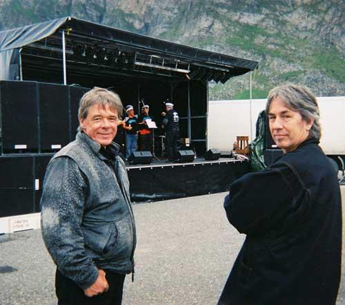 Slim & Baz at the Sjyrock Music Festival