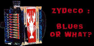What is zydeco music?
